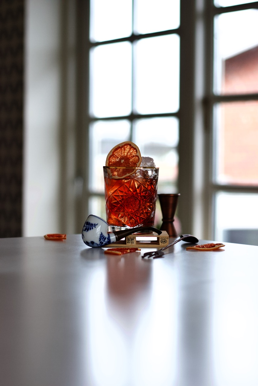 Rum Negroni Cocktail
